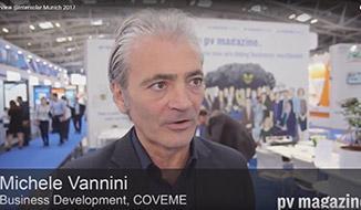 在慕尼黑国际太阳能展上接受PV Magazine采访